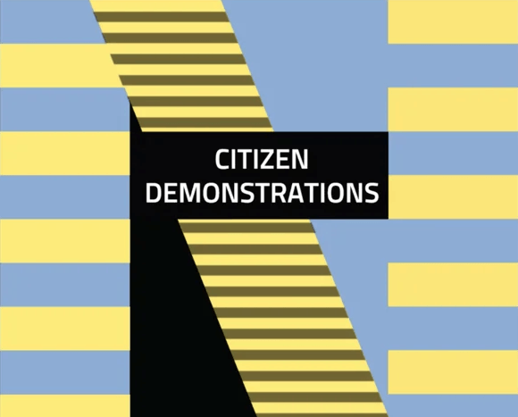 Citizen demonstrations
